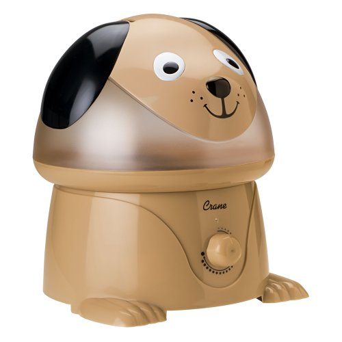 Crane Adorable 1 Gallon Cool Mist Humidifier, Dog