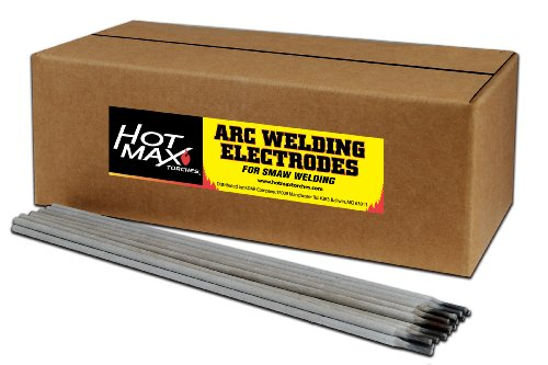 Hot Max 23055 1/8-Inch E7018 ARC Welding Electrodes, 50-Pack
