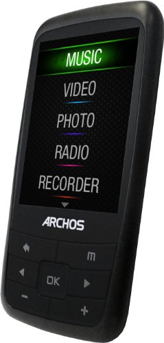 Archos Vision 24b 8 GB Video MP3 Player with 2.4-Inch Screen and FM Radio (Black)