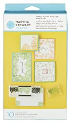 Martha Stewart Crafts Around the Page Starter Set Stamp
