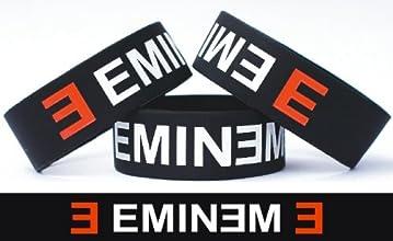 Eminem One Inch Silicone Wristband Wrist Band Merchandise Bracelet