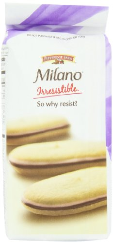 Pepperidge Farm Raspberry Milano Cookies, 7-Ounce (Pack of 4)