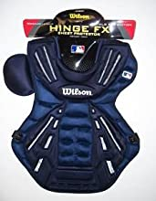Wilson Hinge FX Gold Series Chest Protector Navy MED 16quot
