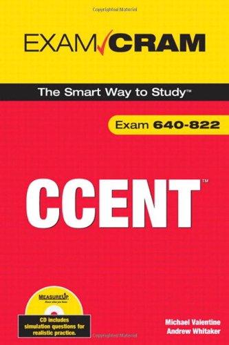 CCENT Exam Cram (exam 640-822)
