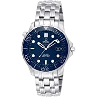 Omega Seamaster Blue Dial Men's Watch