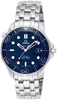 Omega Seamaster Blue Dial Men's Watch