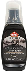 Kiwi Black Leather Heel & Sole Edge Color Renew