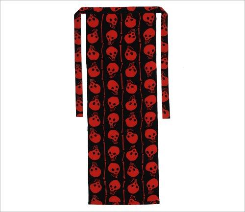 FUNDOSHI - Traditional Japanese mens shorts - Dramatic Red Skull