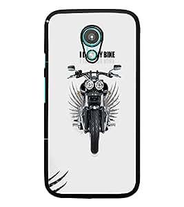 PrintDhaba Bike D-5598 Back Case Cover for MEIZU M1 NOTE (Multi-Coloured)