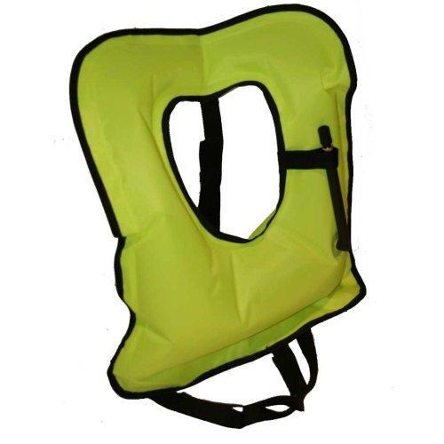 Quality Adult Hi Vis Yellow Snorkel Vest for Snorkeling