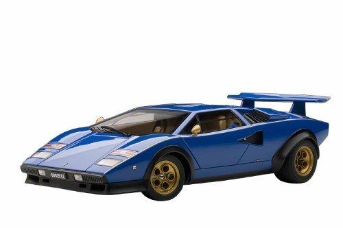 Lamborghini Countach LP500S Walter Wolf Edition - blau 1:18 by AUTOart [並行輸入品]