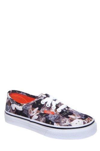 Vans Kids' Authentic X Aspca Low Top Sneaker - Cats