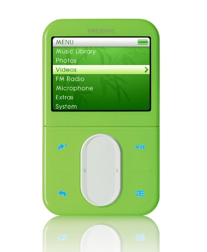 Creative ZEN Vision:M 30GB MP3 / Multimedia Player - Green