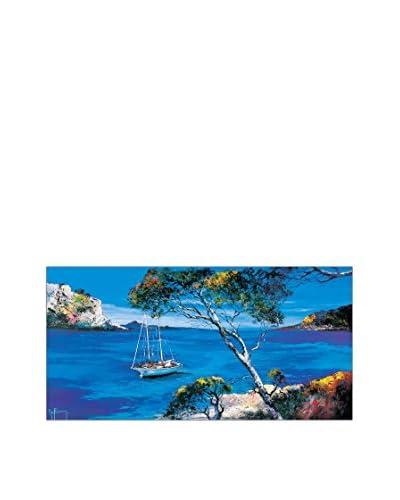 ArtopWeb muurschildering Keiflin Le Voilier Blanc 50x100 cm