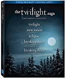 The Twilight Saga: The Complete Collection (5-Disc Blu-ray + Digital Copies)