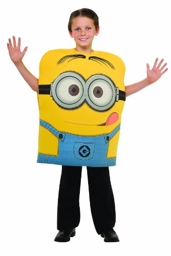 Despicable Me 2 Minion Dave Costume, Medium - 1