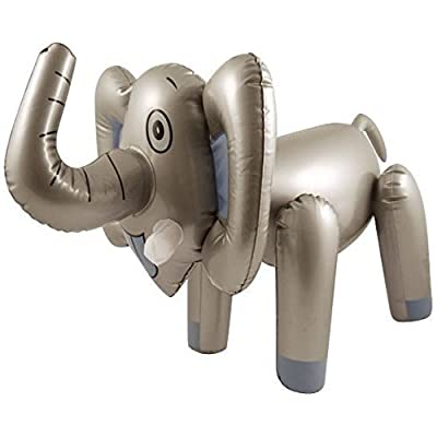 65cm Inflatable Blow Up Elephant Animal Toy Safari Novelty