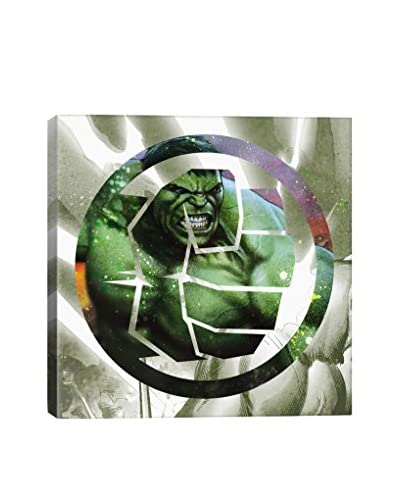 Hulk's Symbol Gallery-Wrapped Canvas Print