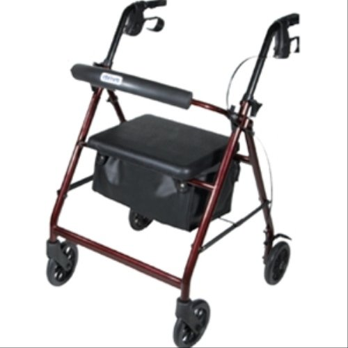 Drive-Medical-Aluminum-Rollator-Walker-Fold-Up-and-Removable-Back-Support-Padded-Seat-Wheels-6-Inch