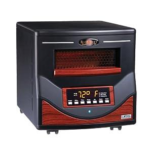 BioSmart 1500PA 4 Element Breathe Easy Infrared Heater - 2013 Platinum Model