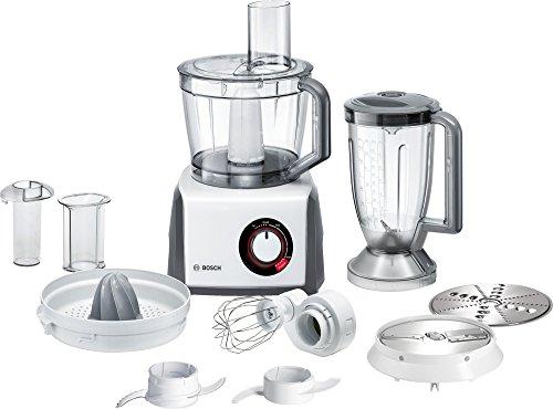 Bosch MCM62020 Robot da Cucina Compatto, Colore Bianco/Grigio, 1000 W