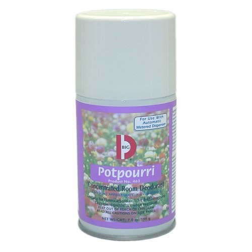 Big D 462 7 Oz. Potpourri Fragrance Metered Concentrated Room Deodorant (Case Of 12)
