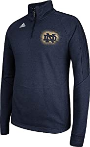 Notre Dame Fighting Irish Adidas Sideline Training 1 4 Zip Ultimate Tech Fleece by adidas