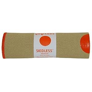 Yogitoes Skidless Premium Hand Size Towel (Sand)