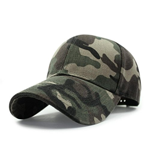Iuhan Fashion Unisex Camo Camouflage Baseball Cap Hip Hop Hat Flat (Camouflage) (Zulu Zephyr compare prices)