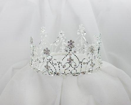 Sunnywood 4033 Rhinestone Female Crown
