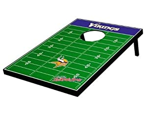 Minnesota Vikings Cornhole Bean Bag Toss Game by Unknown