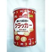 賞味期限製造から5年 前田製菓 あたり前田のクラッカー保存缶×12缶