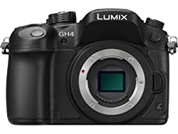 Panasonic Lumix GH4 16MP Digital SLR Camera Body only (Black)