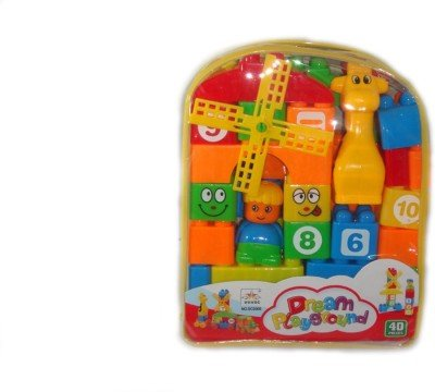TOY MART Toy Mart Educational Building Blocks Game For Kids
