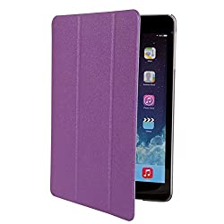 iPad Mini with Retina display Case, TURTLE Sparkle Finish Slim Flip Cover Case For Apple iPad Mini with Retina display (Purple) [Auto Wake sleep] - Purple