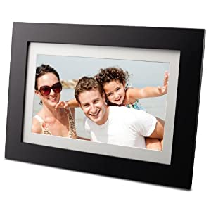 Viewsonic VFD1027w-11 10-Inch Digital Photo Frame with 128 MB Internal Memory
