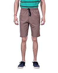 LLUMINATI FASHIONS SOLID MEN'S SHORTS (38)