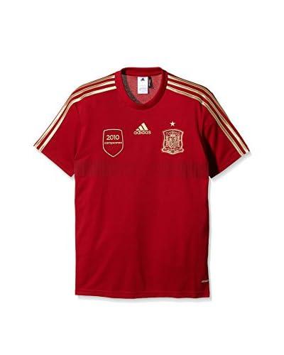 adidas Camiseta de Fútbol Fef H Rep Tee Rojo