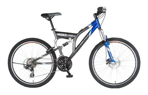 Victory Vegas Low Mountain Bike (Blue/Gray, 26 X 19-Inch)