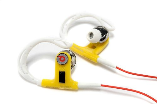 Monster Powerbeats By Dr. Dre Sport Control Talk Earphones For Athletes (Red)