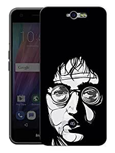 "John Lennon Trippy Love - The Beatles Printed Designer Mobile Back Cover For ""Google Infocus M812"" By Humor Gang (3D, Matte Finish, Premium Quality, Protective Snap On Slim Hard Phone Case, Multi Color)"