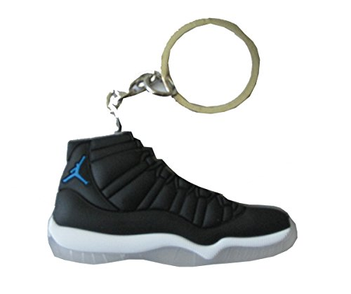 Air Jordan 11 Retro 'Space Jam' Sneaker Chicago Bulls AJ 23 Keychain Keyring (Space Jams 11 compare prices)