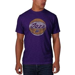 NBA New Orleans Hornets Scrum Basic Tee, Grape by