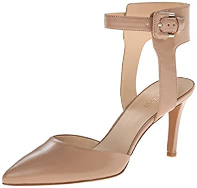 Nine West Women's Cherlin D'Orsay Pump,Taupe,10.5 M US