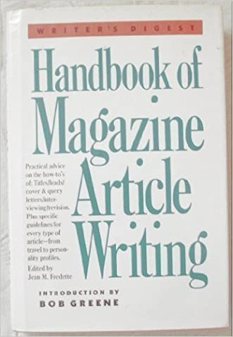 Handbook of Magazine Article Writing