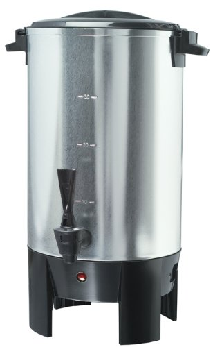 New - 30 Cup Coffee Urn Stainless Steel by Professional