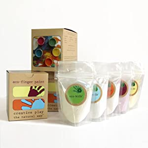 Finger paint eco kids non toxic natural for Ecos organic paints