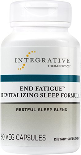 Integrative Therapeutics - End Fatigue Revitalizing Sleep Formula - Restful Sleep Blend - 30 Capsules