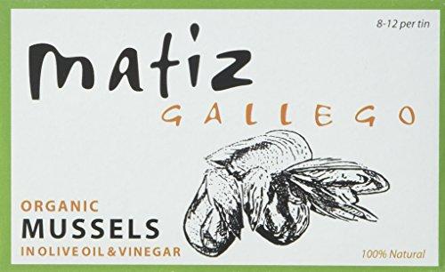 Matiz Mussels in Olive Oil, Organic, 4.2 Ounce