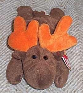 TY Beanie Baby - CHOCOLATE the Moose - 1